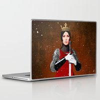 queen Laptop & iPad Skins featuring Queen by Ed Pires
