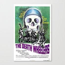 The Death Wheelers Canvas Print