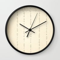 cloud Wall Clocks featuring Cloud by RAGAN ILLUSTRATION