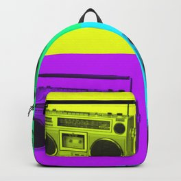 Pop Art Ghetto Blaster Backpack
