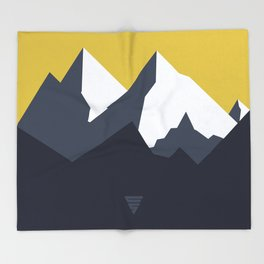 Mountains Throw Blanket
