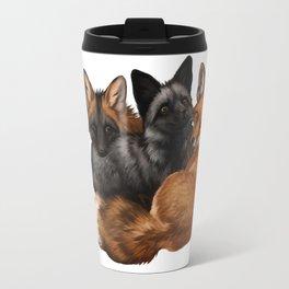 Fox Trio Travel Mug