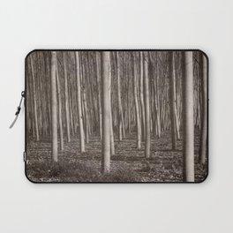 """Straight trees"" Laptop Sleeve"