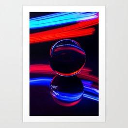 The Light Painter 4 Art Print