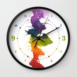Little Chakra Tree Wall Clock