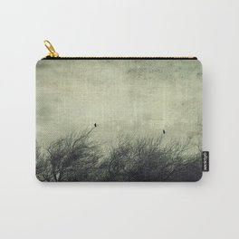Talk to me ~ Birds silhouettes Carry-All Pouch