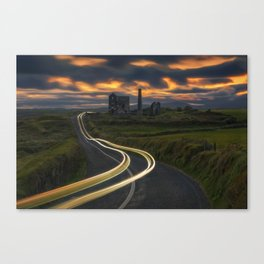 Remians Of The Past Canvas Print