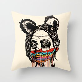 Wonderdam Girl Throw Pillow