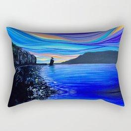 Siwash Rock Rectangular Pillow