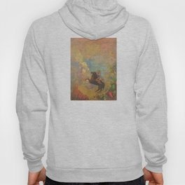 Muse on Pegasus - Odilon Redon Hoody