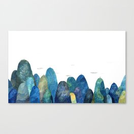 the moutains are comming Canvas Print