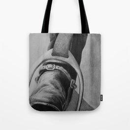 Heels Down Tote Bag