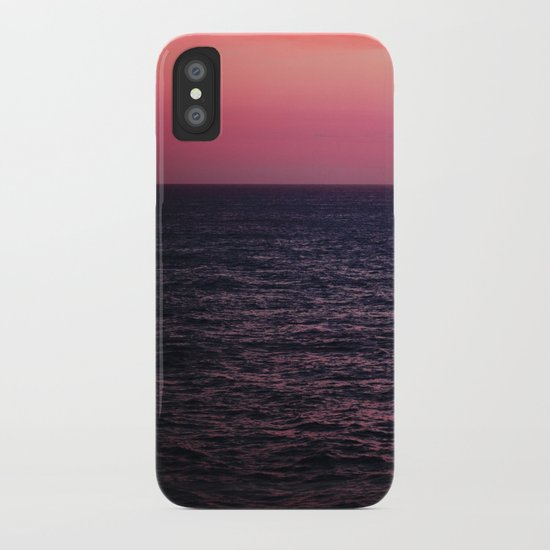 Pretty Pink Sunset iPhone Case