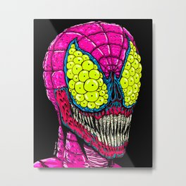 Spider Eyes Metal Print