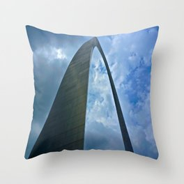 St.Louis Arch Throw Pillow