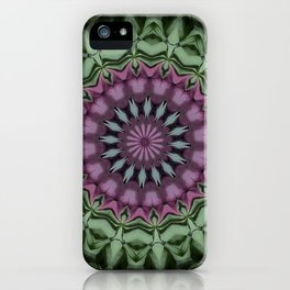 Rose and Jade Floral Fantasy iPhone Case