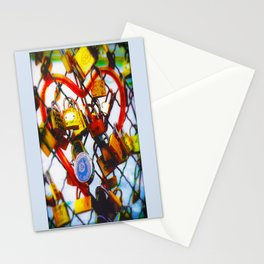 Promise on the bridge Stationery Cards