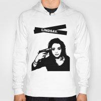 lindsay lohan Hoodies featuring Lindsay Lohan. by 161926