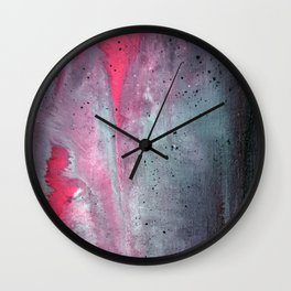 Painted Over a Concrete Feel Wall Clock