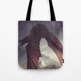 Dragon Chaser Tote Bag