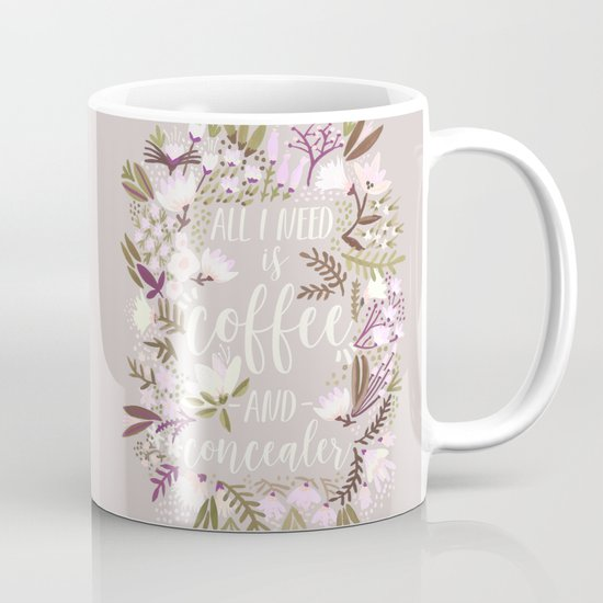 Coffee & Concealer – Spring Palette Mug