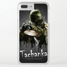 Tachanka Clear iPhone Case