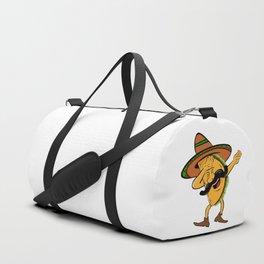 Cinco De Mayo Dabbing Taco Duffle Bag
