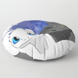 Light/Night Fury Floor Pillow