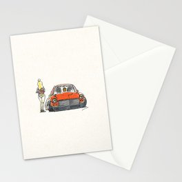 Crazy Car Art 0131 Stationery Cards