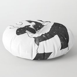 The puzzle love. Floor Pillow