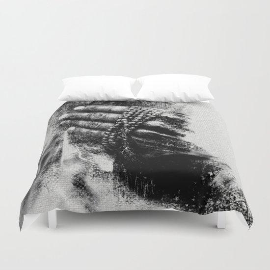 Esperimenti con Carbone 5 Duvet Cover