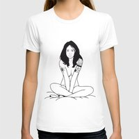 emma watson T-shirts featuring Emma by Michel Toral