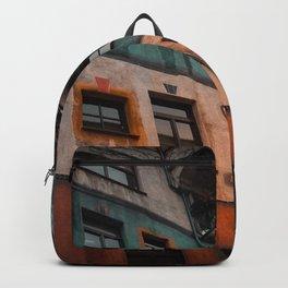 Hundertwasser museum Backpack