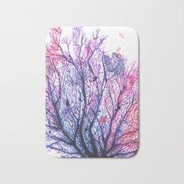 Sea Fan - Purple Bath Mat