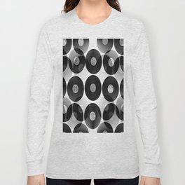 Something Nostalgic II - Black And White #decor #buyart #society6 Long Sleeve T-shirt