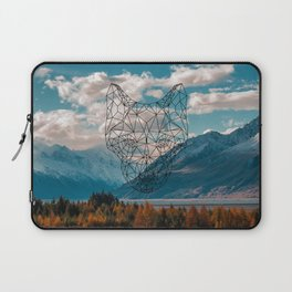 Wolf nature mountain Laptop Sleeve