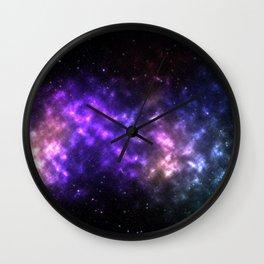 Galaxy Wall Clock