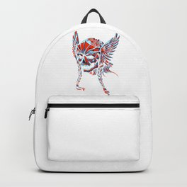 Death Flying Skull Backpack