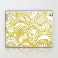 Golden Doodle mountains Laptop & iPad Skin