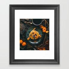pancakes and fruits #society6 #decor #buyart Framed Art Print