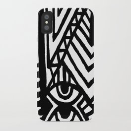 SPCSHP indigo iPhone Case