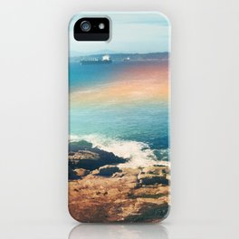 Colours of the sea iPhone Case
