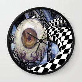Here's Looking at Ya Wall Clock