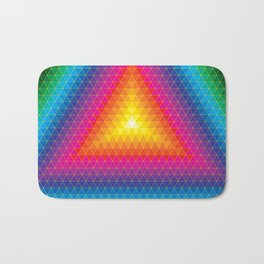Triangle Of Life Bath Mat