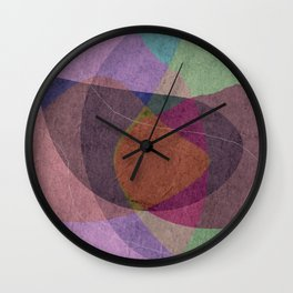 Pregnant Oyster III Wall Clock
