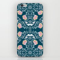 folk iPhone & iPod Skins featuring Folk by katharine stackhouse