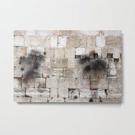 Wailing Wall Metal Print