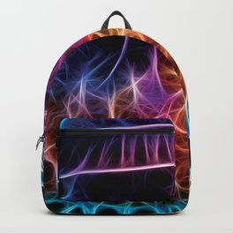 Cauliflower Jellyfish Fractal Backpack