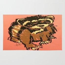 Itty the ferret boy Rug