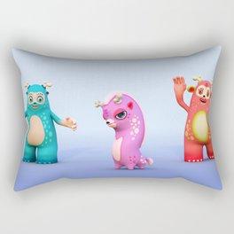 Woopee World Rectangular Pillow
